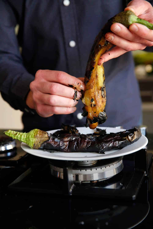 Brent aubergine / Et kjøkken i Istanbul
