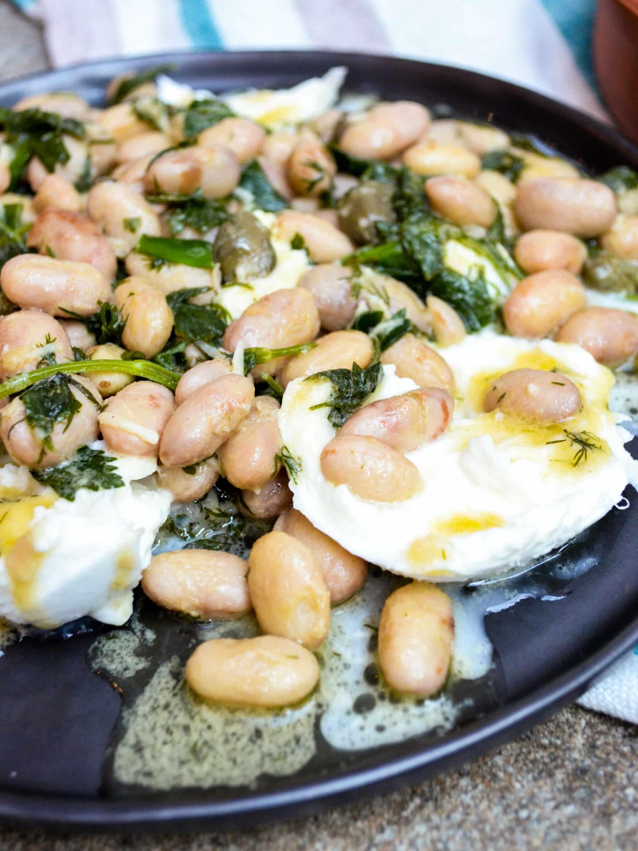 Borlottibønner med mozzarella (2 of 4)