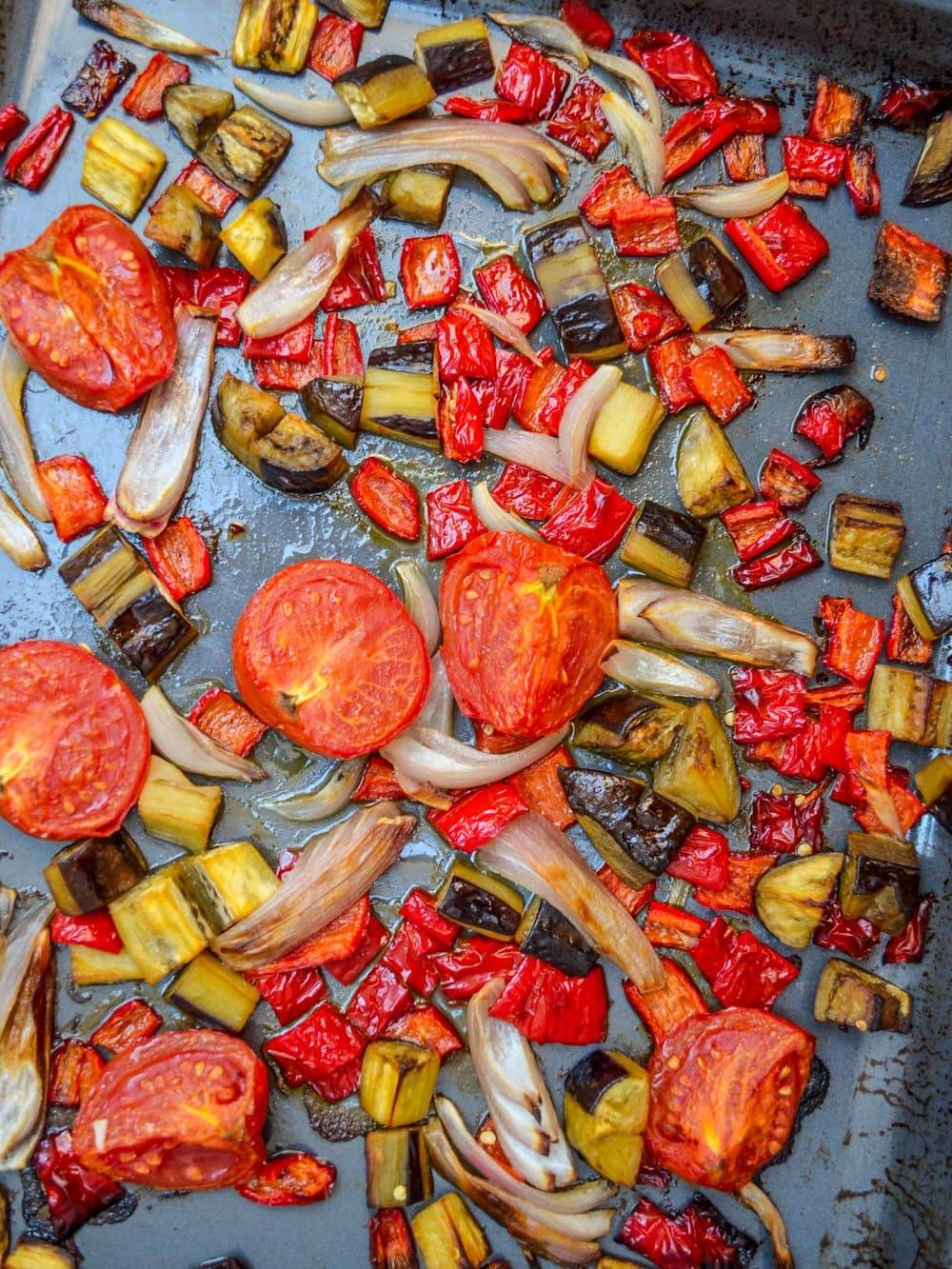 Ovnsbakt caponata - oppskrift / Et kjøkken i Istanbul