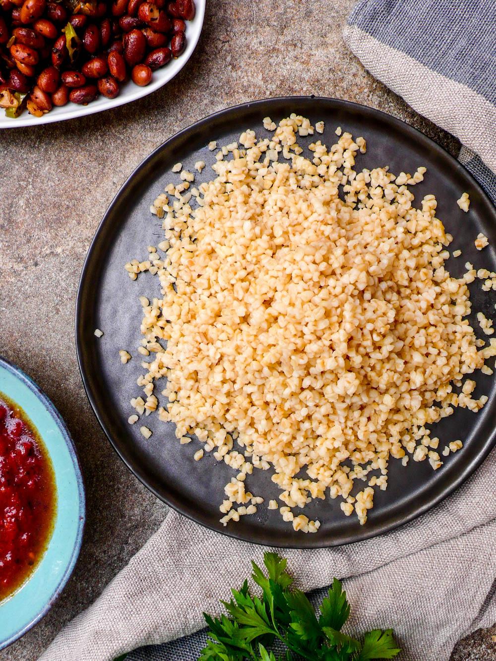 Hvordan koke bulgur - oppskrift og fremgangsmåte / Et kjøkken i Istanbul