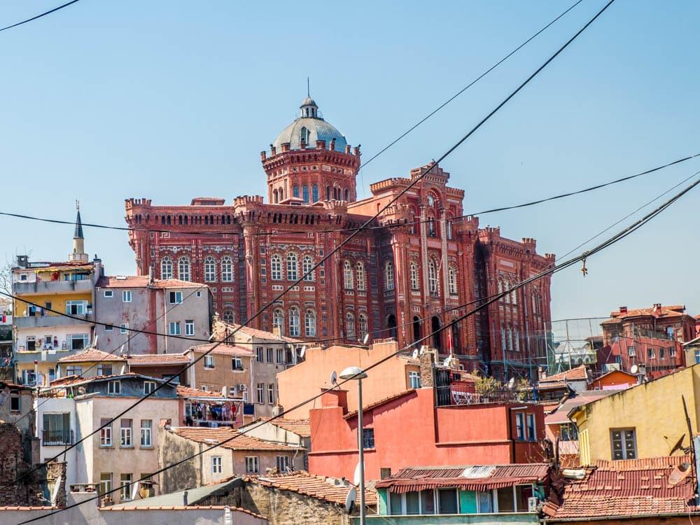 Fener Rum Lisesi - Den greske skolen i Balat / Fener, Istanbul