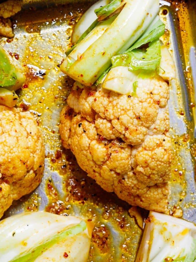 Spicy blomkål - oppskrift / Et kjøkken i Istanbul