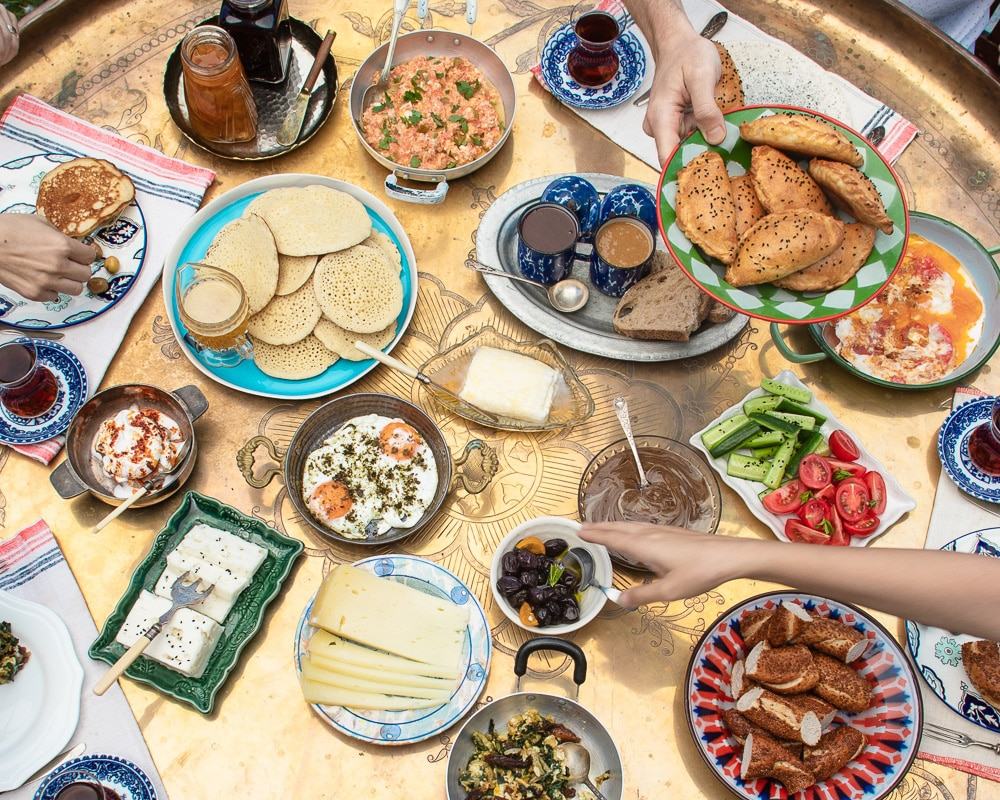 Frokostbord